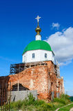 Holy Trinity Church in the village Karacharovo near Murom Stock Photo