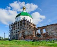 Holy Trinity Church in village Karacharovo near Murom Stock Image