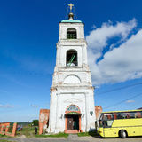 Holy Trinity Church in the village Karacharovo near Murom Royalty Free Stock Images