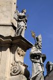 The Holy Trinity Column Stock Images