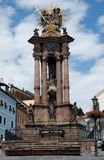 Holy Trinity column, Banska Stiavnica Stock Photography