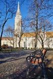 Holy Trinity Column, Buda Castle, Budapest, Hungary Royalty Free Stock Photo