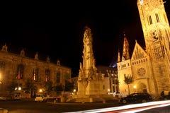 Holy trinity column in Budapest, Hungary Stock Photos