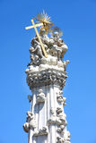 Holy trinity column in Budapest, Hungary Royalty Free Stock Image