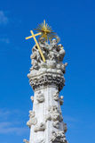 Holy Trinity Column in Budapest Stock Photos