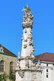 Holy Trinity Column in Budapest, Hungary Royalty Free Stock Photography