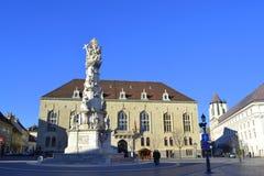 Holy Trinity column Budapest Royalty Free Stock Images