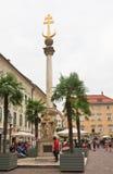 Holy Trinity Column in Klagenfurt. Carinthia. Austria Stock Photo