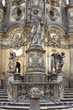 Holy Trinity Column in Olomouc Stock Photo