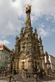 The Holy Trinity Column in Olomouc Stock Photo