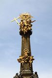 Holy trinity column in the Olomouc Royalty Free Stock Images