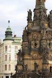 Holy Trinity Column in Olomouc royalty free stock image