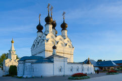 Holy Trinity convent in Murom, Russia Royalty Free Stock Image