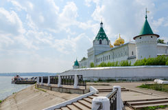 Holy Trinity Ipatievsky male monastery, Kostroma, Golden ring of Royalty Free Stock Photo