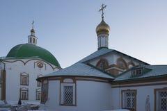 Holy Trinity Monastery Stock Photo