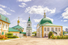 Holy Trinity monastery Cheboksary Russia Royalty Free Stock Image