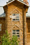 Holy Trinity Abode of Mercy. The village of Saraktash. The tower tower Royalty Free Stock Photo