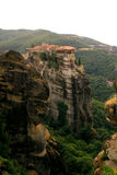 Holy Trinity Monastery at Meteora stock photo