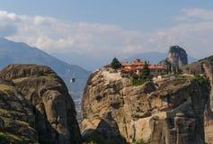 The Holy Trinity Monastery in Meteora Stock Photo