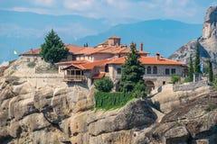 Holy Trinity Monastery. Meteora, Greece Royalty Free Stock Photography