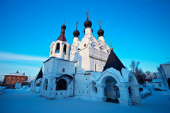 Holy Trinity Monastery at Murom in winter. Russia Stock Photography