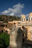 Holy trinity monastry. In tzagarola in greece Stock Photo