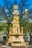 The Holy Trinity monument in Subotica town, Serbia Royalty Free Stock Image