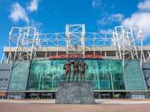 Holy Trinity in Old Trafford Stadium Stock Image