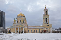 Holy Trinity Orthodox Cathedral. Ekaterinburg. Russia. Royalty Free Stock Photo