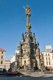 Holy Trinity(pestilential) Column in Olomouc Stock Image