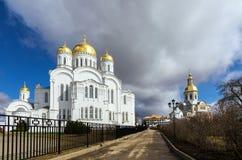 Holy Trinity Seraphim-Diveevo monastery, Diveevo, Russia Stock Photography