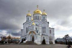 Holy Trinity Seraphim-Diveevo monastery, Diveevo, Russia Royalty Free Stock Images