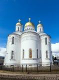 Holy Trinity Seraphim-Diveevo monastery, Diveevo, Russia Royalty Free Stock Photography
