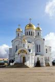 Holy Trinity Seraphim-Diveevo monastery, Diveevo, Russia Royalty Free Stock Photos