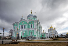Holy Trinity Seraphim-Diveevo monastery, Diveevo, Russia Stock Image
