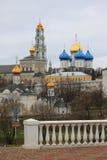 Holy Trinity Sergius Lavra. Sergiev Posad. Moscow Royalty Free Stock Photo