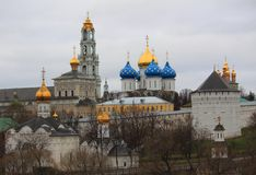 Holy Trinity Sergius Lavra. Sergiev Posad. Moscow Stock Photo