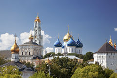 Holy Trinity Sergius Lavra. Sergiev Posad. Russia Royalty Free Stock Photo
