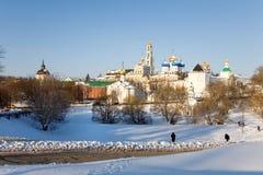 Holy Trinity Sergius Lavra. Sergiev Posad. Russia Royalty Free Stock Images