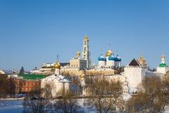 Holy Trinity Sergius Lavra. Sergiev Posad. Russia Royalty Free Stock Image