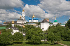 The Holy Trinity-St. Sergius Lavra. Royalty Free Stock Photo