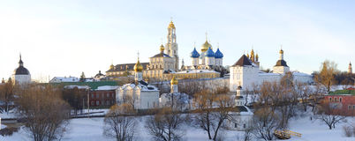The Holy Trinity-St. Sergius Lavra. Panorama Royalty Free Stock Photos