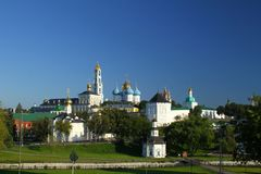 Holy Trinity St. Sergius Lavra. Russia Royalty Free Stock Photos