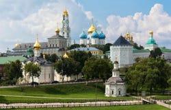 The Holy Trinity-St. Sergius Lavra, Russia. Stock Photo