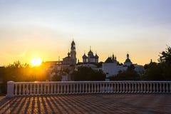 Holy Trinity St. Sergius Lavra Royalty Free Stock Photography