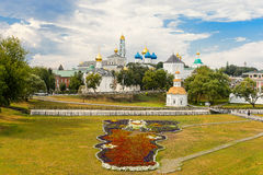 The Holy Trinity-St. Sergius Lavra, Sergiev Posad. Moscow district, Russia Stock Images