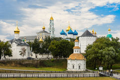 The Holy Trinity-St. Sergius Lavra, Sergiev Posad. Moscow district, Russia Royalty Free Stock Photography