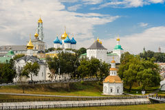The Holy Trinity-St. Sergius Lavra, Sergiev Posad. Moscow district, Russia Royalty Free Stock Images