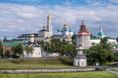 Holy Trinity St. Sergius Lavra in Sergiev Posad in the Moscow Region royalty free stock images