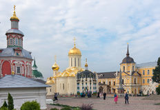 The Holy Trinity-St. Sergius Lavra Royalty Free Stock Images